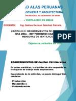 Cap.iv. Requerimientos de Caudal en Una Mina – Instrumentos Usados en Mensuras de Ventilacion (10)