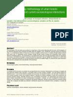 Landscape Reading Methodology of Urban Forests