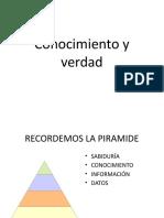 Datos - Información - Conocimiento