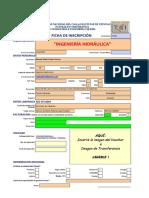 Ficha de Inscripción - Ingenieria Hidráulica