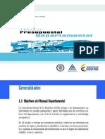 Manual Presupestal Departamental