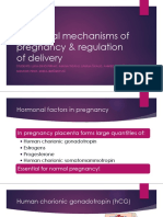 Pregnancy, parturition, breastfeeding- physiology for medical students