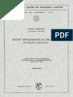 Recent Developments in the Theory of Polar Continua, by Rastko Stojanovic