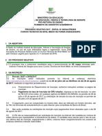 Edital 38 Lagarto