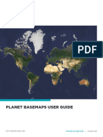 Planet Basemaps User Guide