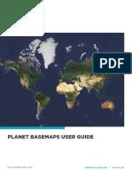 Planet Basemaps User Guide