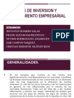 Criterios de Inversion y Financiamiento Empresarial