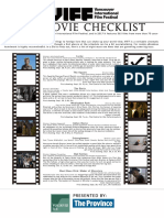 VIFF Checklist 2017