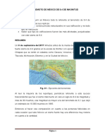 Resume terremoto mexico