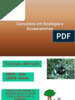 Conceitos Em Ecologia e Ecossistemas