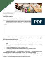 Propriedades Coligativas - Roteiro Para Os Estudantes