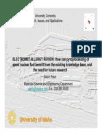 B. Pesic - Electrometallurgy Review.pdf