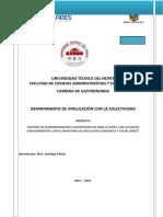 Proyecto Emprendimientos Zona 1