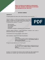 Análise Da Prova de Direito e Processo Penal Do Concurso de Técnico Judiciário Do Estado Do Rio Grande Do Sul Ano 2017