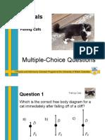 falling cat questions