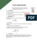 Medición y Error Experimentalp1