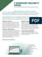 Kaspersky Endpoint Security for Enterprise