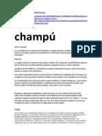 Historia Del Champú (1)