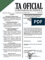 Gaceta Oficial Nº 41 Aumento de Tarifas Sep 2017