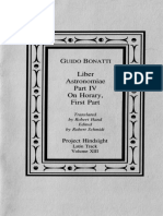 Guido Bonatti - Liber Astronomiae, Part 4 & On Horary, Part 1.pdf