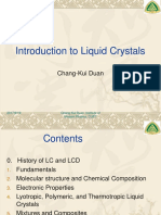 introduction of liquid crystals