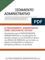 Procedimiento Administrativo Teoria General