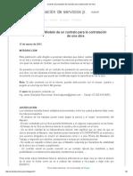 Contrato de Prestación de Servicios Para Construcción de Obra