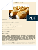 Pão Francês Crocante