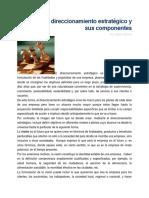 Sobre El Direccionamiento Estratégico y Sus Componentes