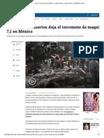 Cifra de Muertos en El Terremoto de México - ELTIEMPO