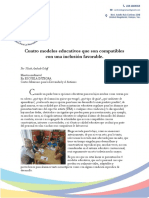 4 Modelos Educativos Para Una Inclusion Favorable (Edicion)}
