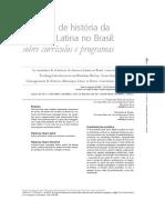 Ensino de História Da América Latina No Brasil
