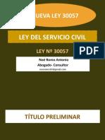 Servicio Civil Dr Noe Romo.