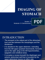 Imaging of Stomach