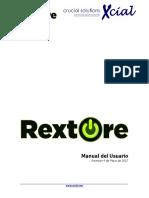 Rextore Manual Del Usuario