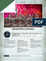 Aos Warscroll Drakespawn Knights It