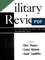 Military Review November 1970