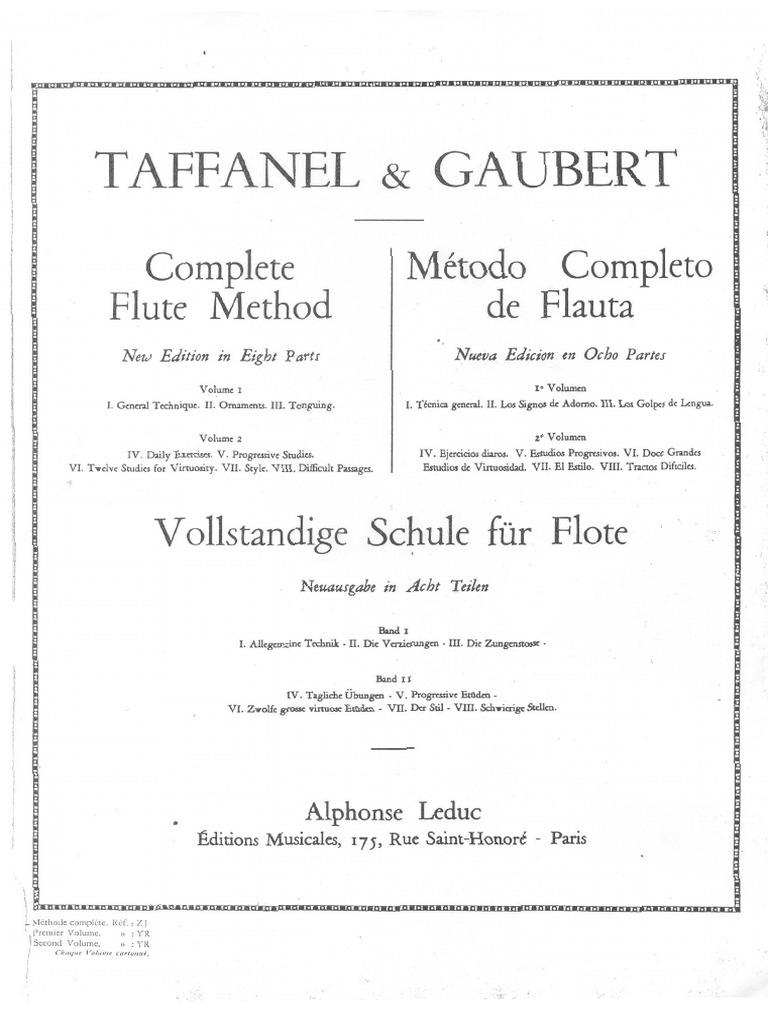 metodo taffanel