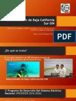 Interconexión de Baja California Sur-SIN