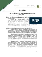 El Estado de Los Comerciante de Derecho Publico en El Peru