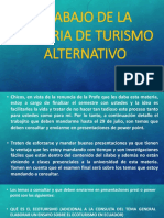 Trabajo de La Materia de Turismo Alternativo