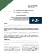 Empresas Multinacionales-Oscar Malca Ex