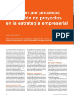 Gestion Por Procesos-proyectos y La Estrategia