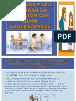 Consejos Para Mejorar La Relación Con Hijos Adolescentes