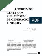 Algoritmos Genéticos y Método de Generación y Prueba