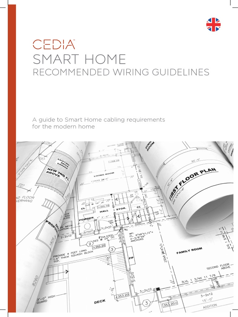 Smart Home Recommended Wiring Guidelines Eng Press | Coaxial Cable | Cable  Television