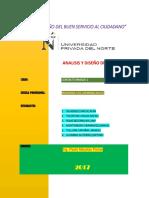 UPN 2017. Trabajo Pre-grado Analisis y Diseño de Vigas T