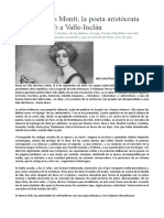 Teresa Wilms Montt Escritora Chilena