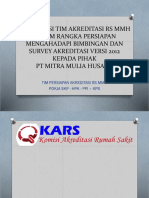 Presentasi Akreditasi Ke Pt Mmh 2016