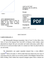 Rolly Pentecostes v Atty Hermegildo Marasigan a.M. No. P-07-2337